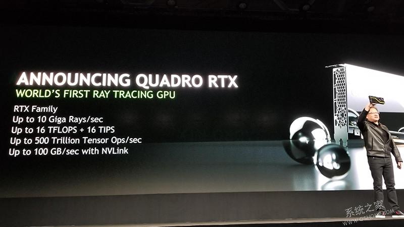 Nvidia发布10,000美元的新显卡Quadro RTX 8000