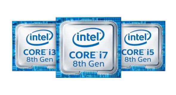 Intel发布U系列和Y系列第8代移动CPU,与5年前相比性能