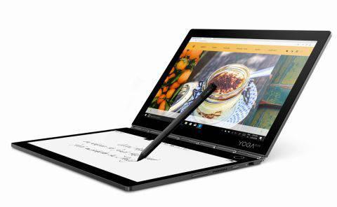 联想发布最新双屏幕笔记本Yoga Book C930,售价1000美