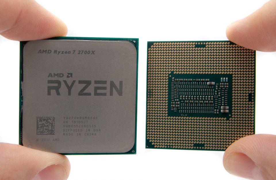 第9代CPU i7-9700K与i7-8700K,2700X跑分对比测试