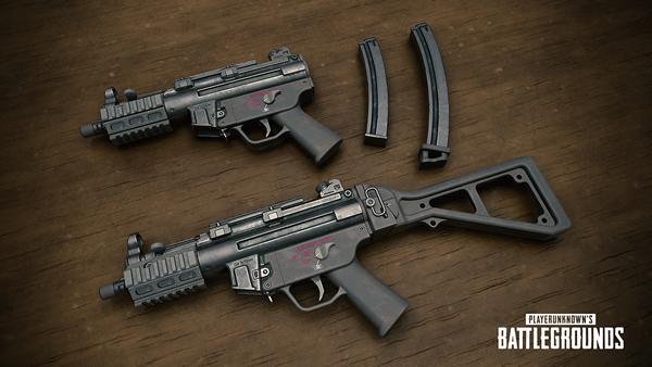 绝地求生新武器MP5K上线测试服,新赛季即将开启