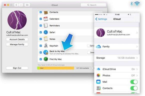 将iPhone复制的内容粘贴到Mac教程