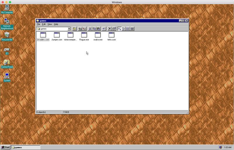 国外大神Felix Rieseberg开发了多平台Win95应用